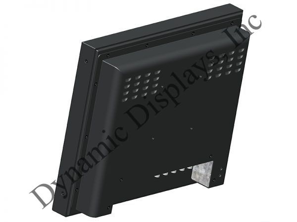 Wall-Mount LCD COTS LCD Display