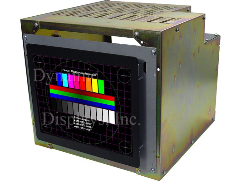 FANUC A61L-0001-0077, A61L-0001-0078 & A61L-0001-0087 COLOR MONITOR Replacement Monitor.