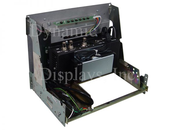 QES1510-045 Replacement LCD Monitor for Allen Bradley 8400 CNC Controls - Display Tech DS3200 - Rear View
