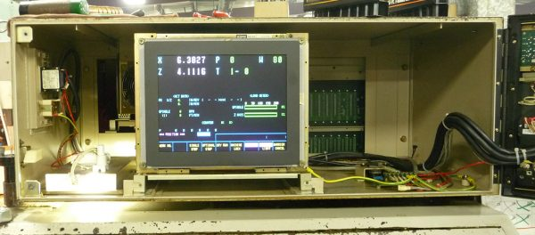 C-3470 Mazak Monitor - 8DSP40 Mazak Monitor - 26S-14O19L Mazak Monitor - CD1472-D1M Mazak Monitor Replacements - Installed