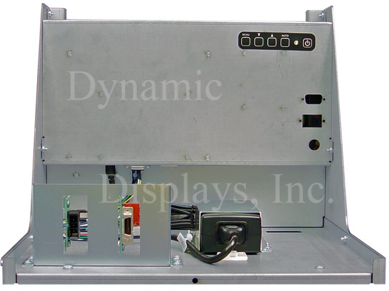 14 In Fanuc A61L-0001-0096, A02B-0163-C322 and TOSHIBA D14CM-01A Monitor Replacement - Rear View