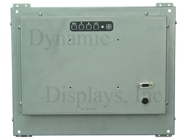 QES1515-448 - 15 in LCD Open Frame - LCD Monitor - Microvitec 15VD4DAS, Conrac Model 9315 - Rear View