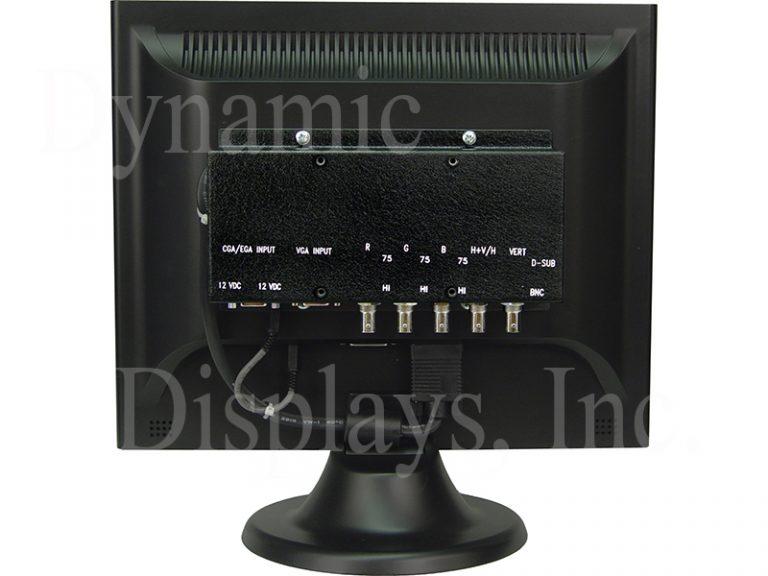 QES1515-074, HP Agilent 35741A & HP Agilent 35741B RGB Monitor - Rear View