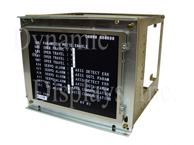 "Fanuc A61L-0001-0072 or Matsushita RE-9DKY1, 9"" Monochrome CRT Monitor Replacement LCD - Customer Chassis"