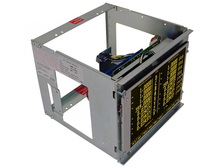 GE Fanuc A61L-0001-0092 (Toshiba D9MR-10A and Tototku MDT947B-1A) , 9 In Amber CRT Monitor Replacement LCD - On Customer Provided Chassis