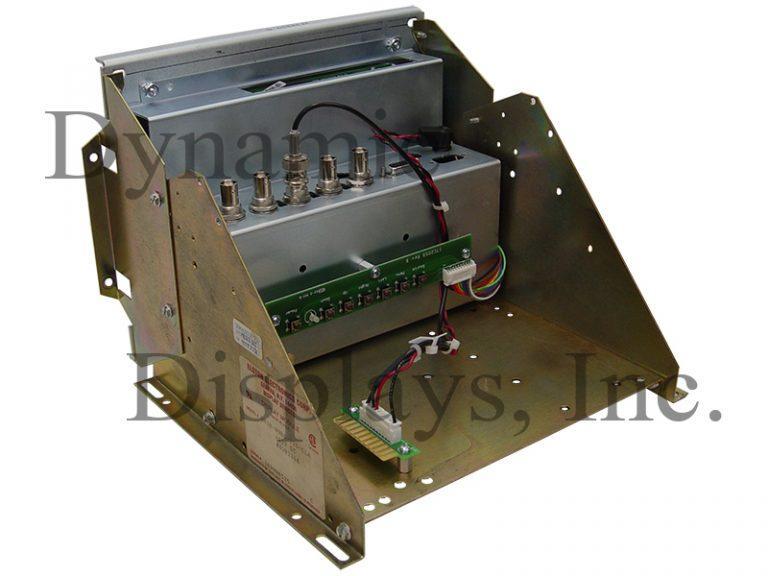 DynaPath CNC Sysem - Model No. Delta 10 and 20 Monitors Dynapath # 4201264, Elston Electronics DM30-09BO-728-CLA, Omni Vision LP0920GK3-LA - Rear View