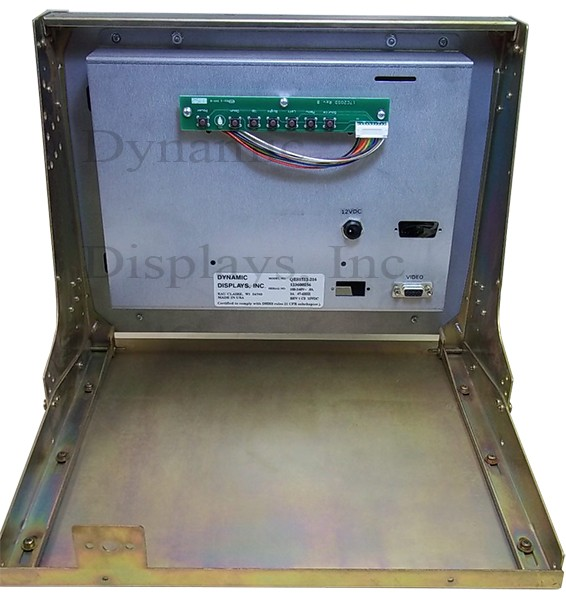 Mazak TX-1404FH / Mazak TX-1404FH- 14 In Color CRT Monitor Replacement - Rear View