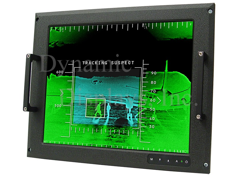MRD1510-040 - 10.4 In MIL-SPEC COTS Rugged LCD Display
