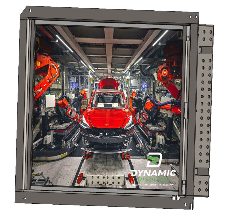 14 In Open Frame LCD Monitor – 14″ CRT Replacement