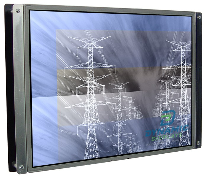 INDUSTRIAL-GRADE OPEN FRAME 20.1″ LCD MONITOR
